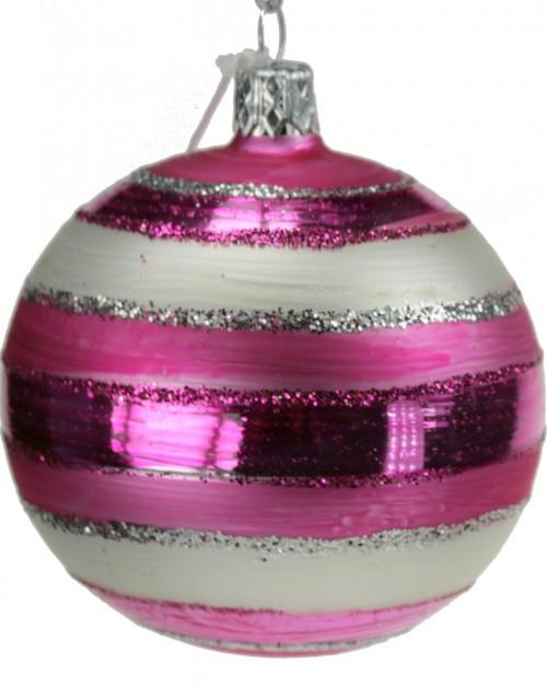 04-190 7cm pink-weiss matt gestreift